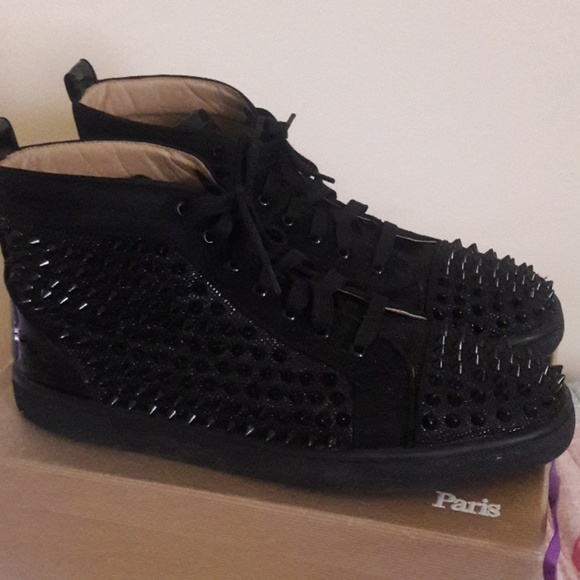huge selection of 74eea 5c146 High top Louboutin sneakers